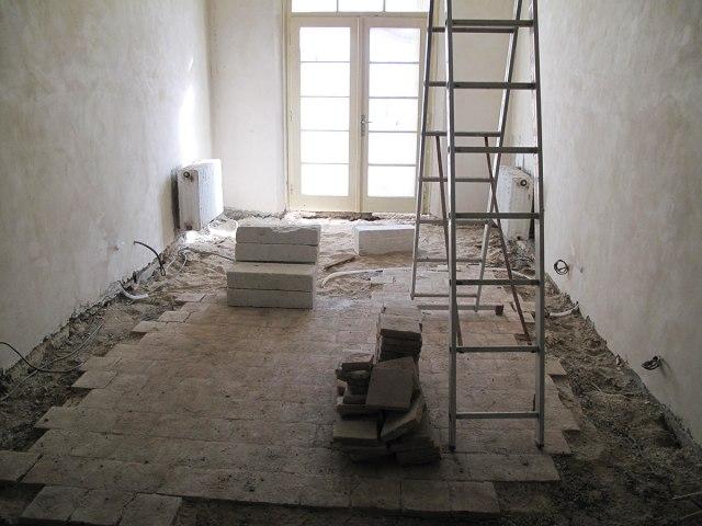 Rekonstrukce Horního zámku v Panenských Břežanech 1