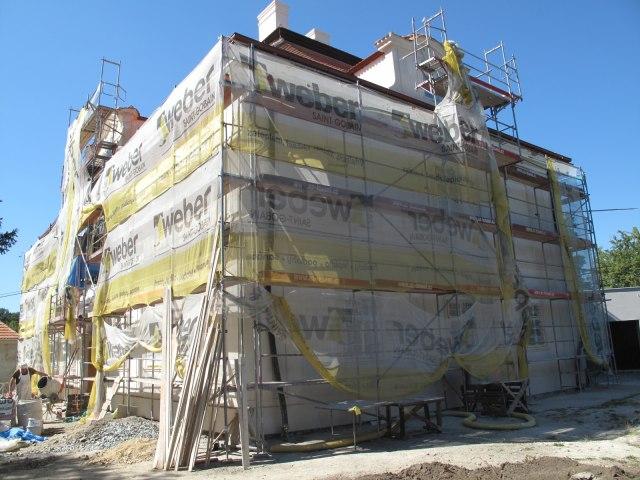 Rekonstrukce Horního zámku v Panenských Břežanech 5